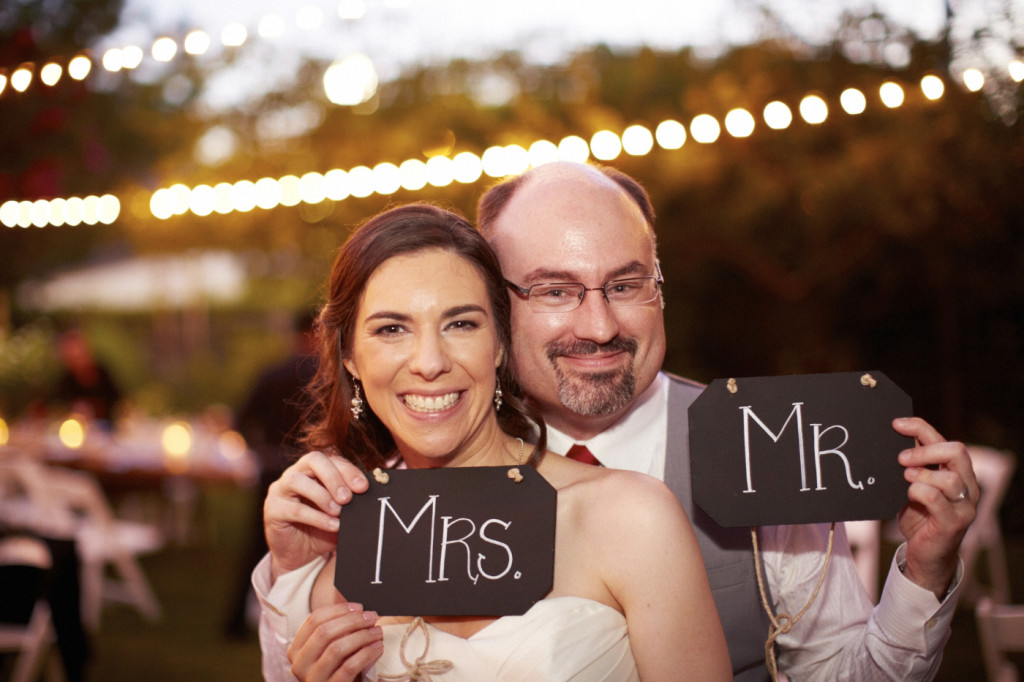 Mrs. and Mr.