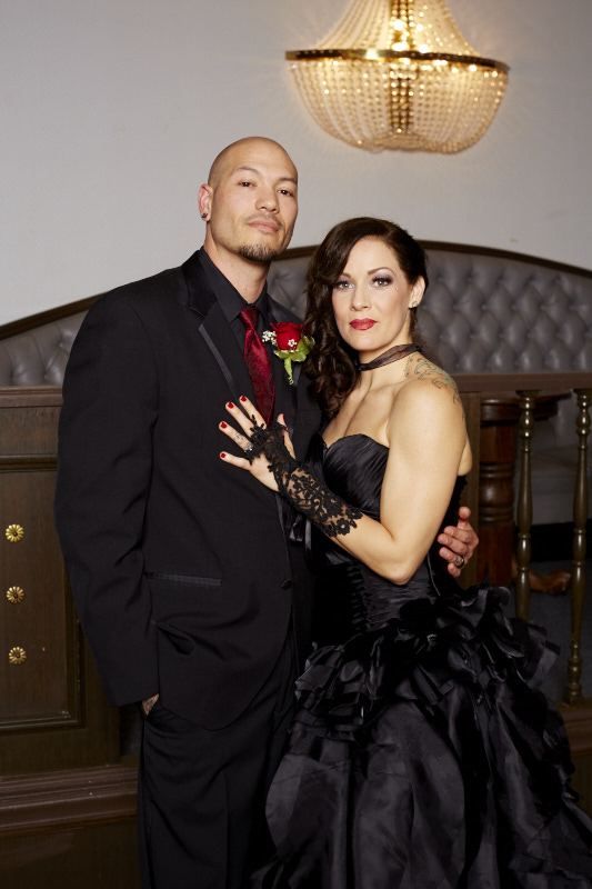Black Suit Black Wedding Dress