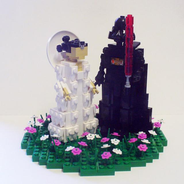 Lego Amidala and Vader