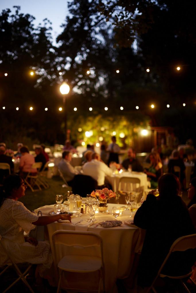 Twilight Wedding Reception