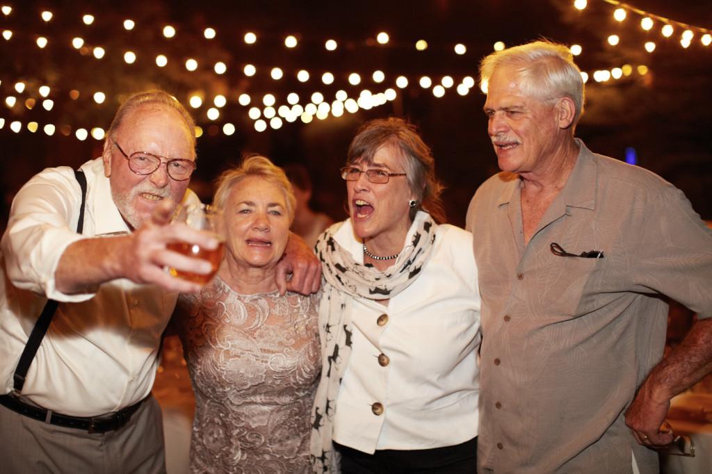 A boisterous family