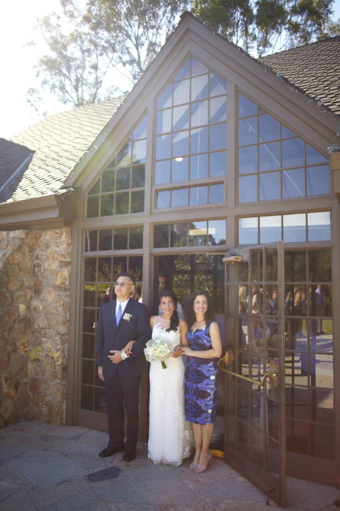 A bright sunny wedding