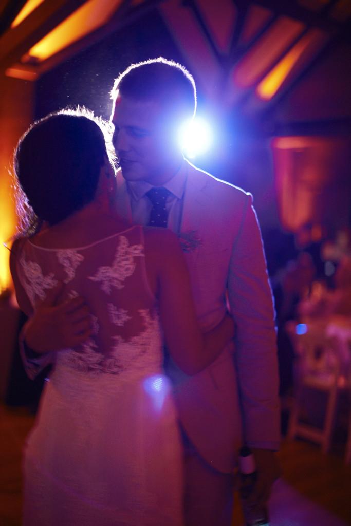 Last kiss on the dance floor
