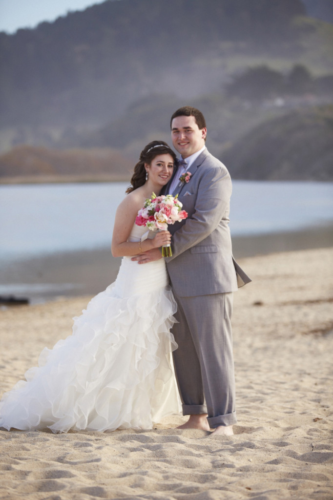 We walked down to the beach for a few photos before the ceremony