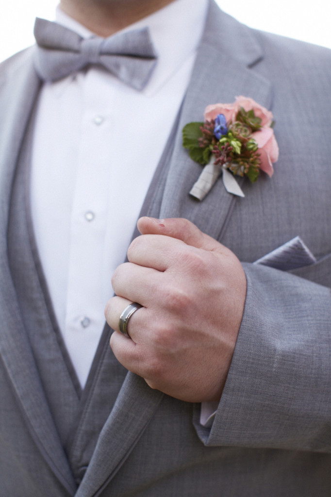 Ring and boutonniere