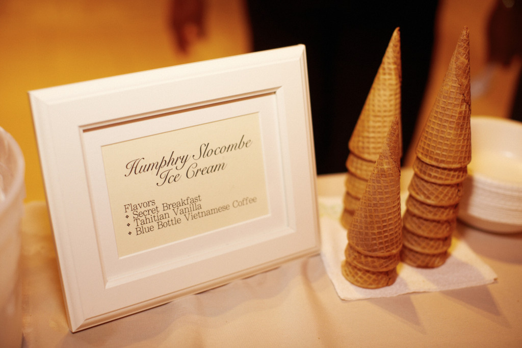 Humphry Slocombe Wedding Catering