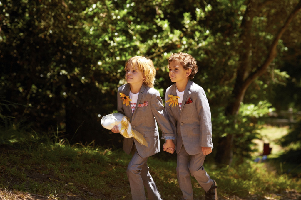 Enter the ring bearers