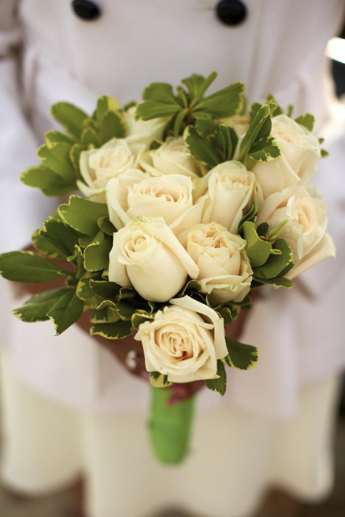 A rose bouquet