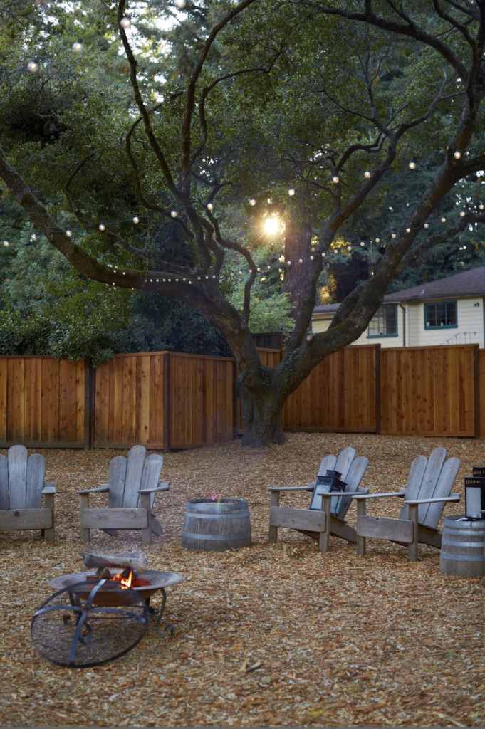The firepit
