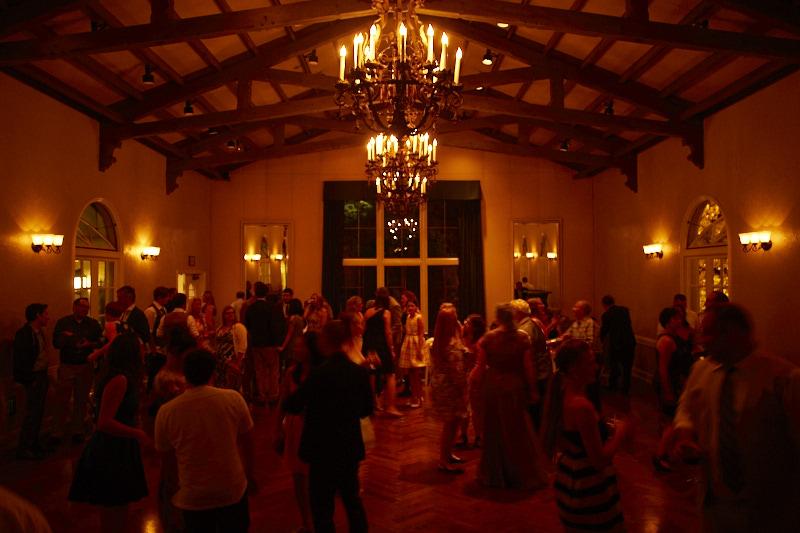 Piemont Community Hall at Night
