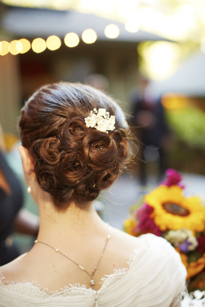 The Bride's Updo