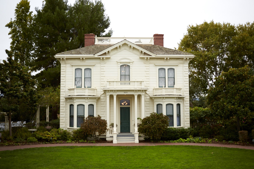 The historic Rengstorff House