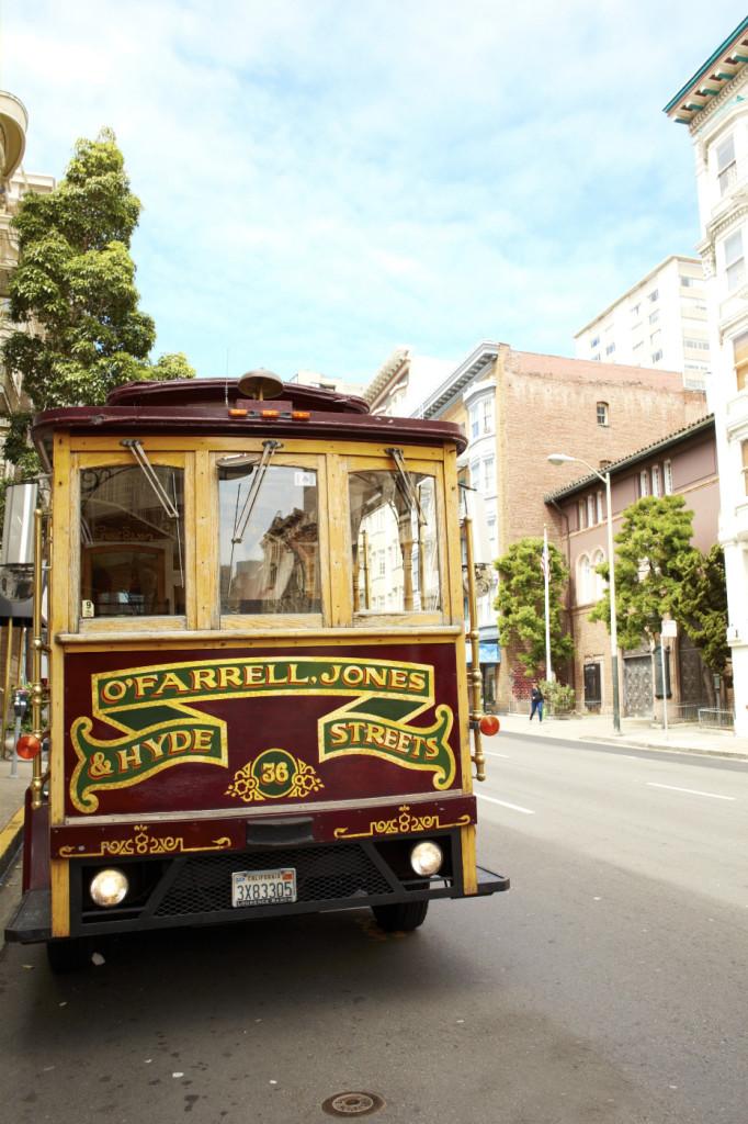 Trolley car!