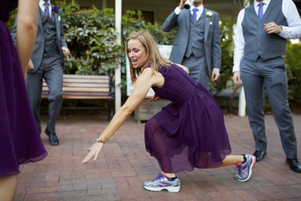Her orthopedist said no formal shoes if she was going to dance. She WAS going to dance.