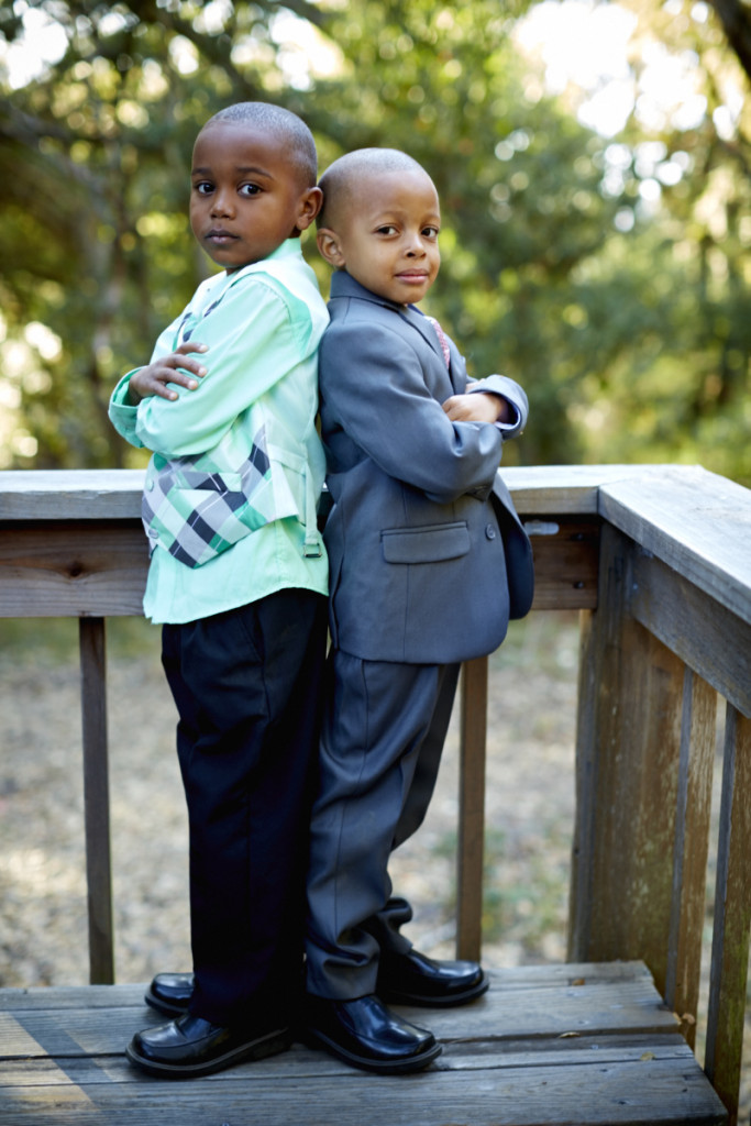 """Their introduction went like this, """"His mom is my sister, so that makes you two cousins."""" and then they didn't stop playing together the whole night."""
