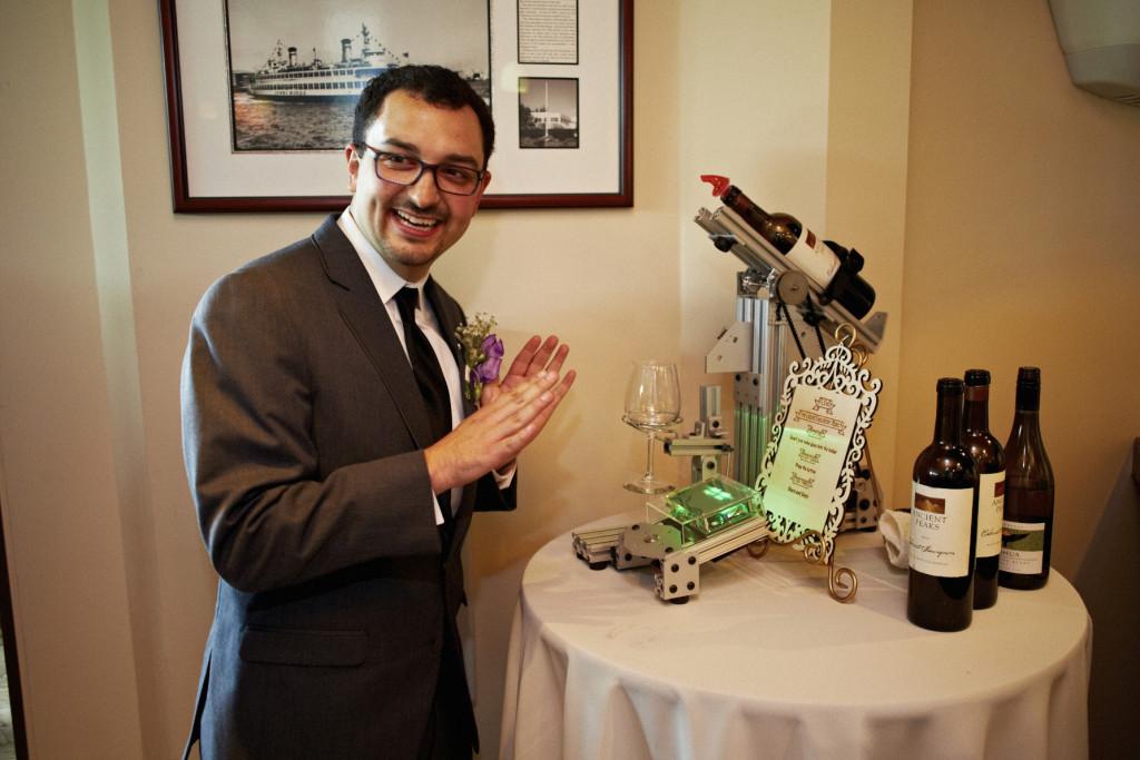 Flexo the robotic wine pourer