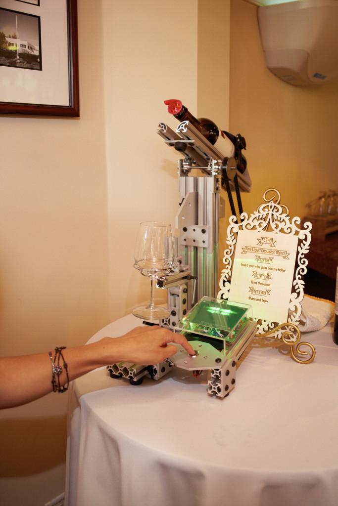 Robotic Wine Pourer