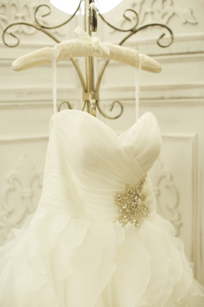 Detail of the Wedding Dress