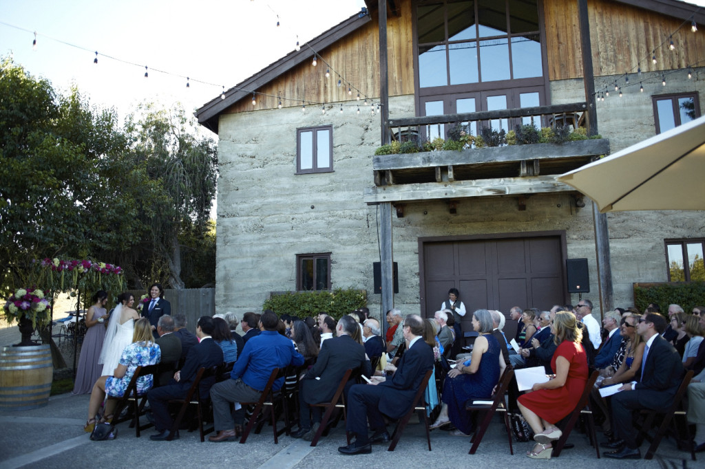 A view of the guests